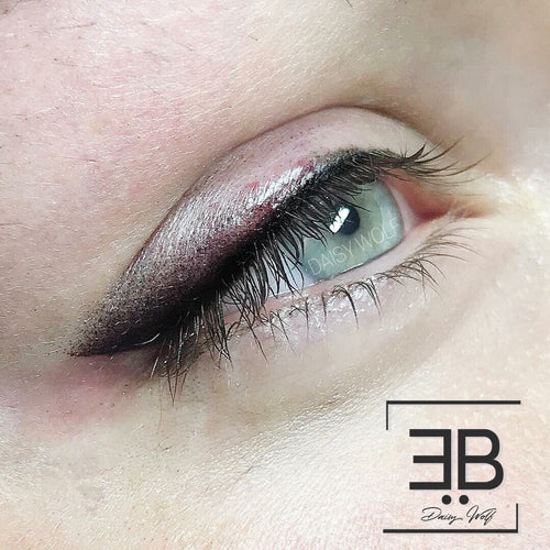 NEW!!MASTERCLASS SOFT-SHADED EYELINER machine method