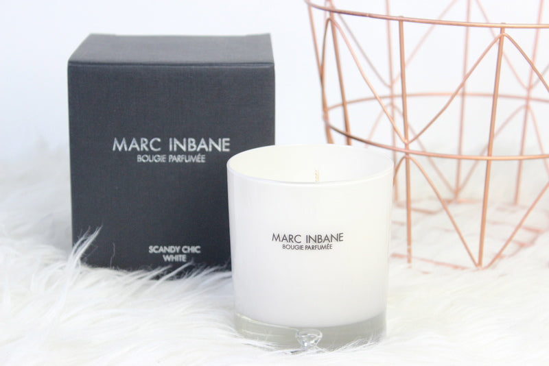 Marc Inbane - Bougie Parfumée - Scandy Chic White