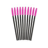 SILICONE/RUBBER MASCARA WANDS (DIFFERENT COLOURS)