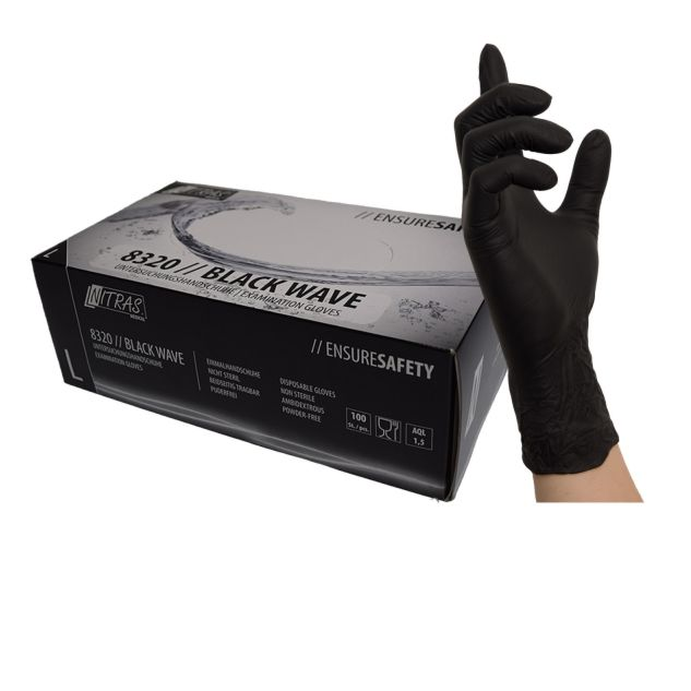 NITRAS BLACK WAVE GLOVES