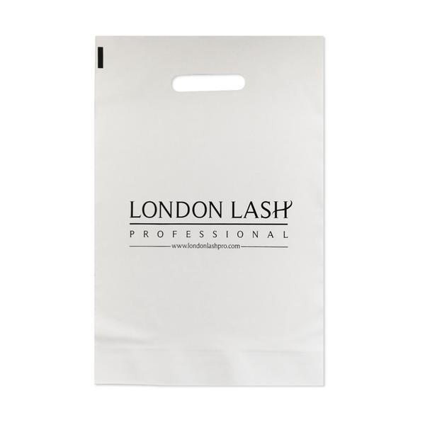 LONDON LASH PLASTIC CARRIER BAG