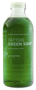 ALOE TATTOO GREEN SOAP