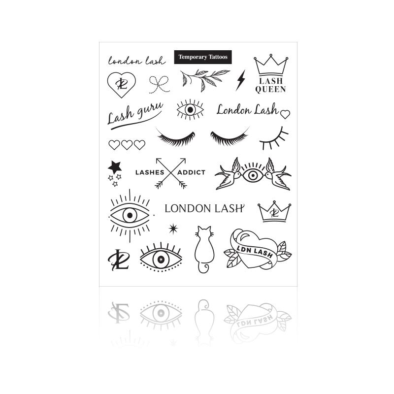 LONDON LASH TEMPORARY TATTOOS