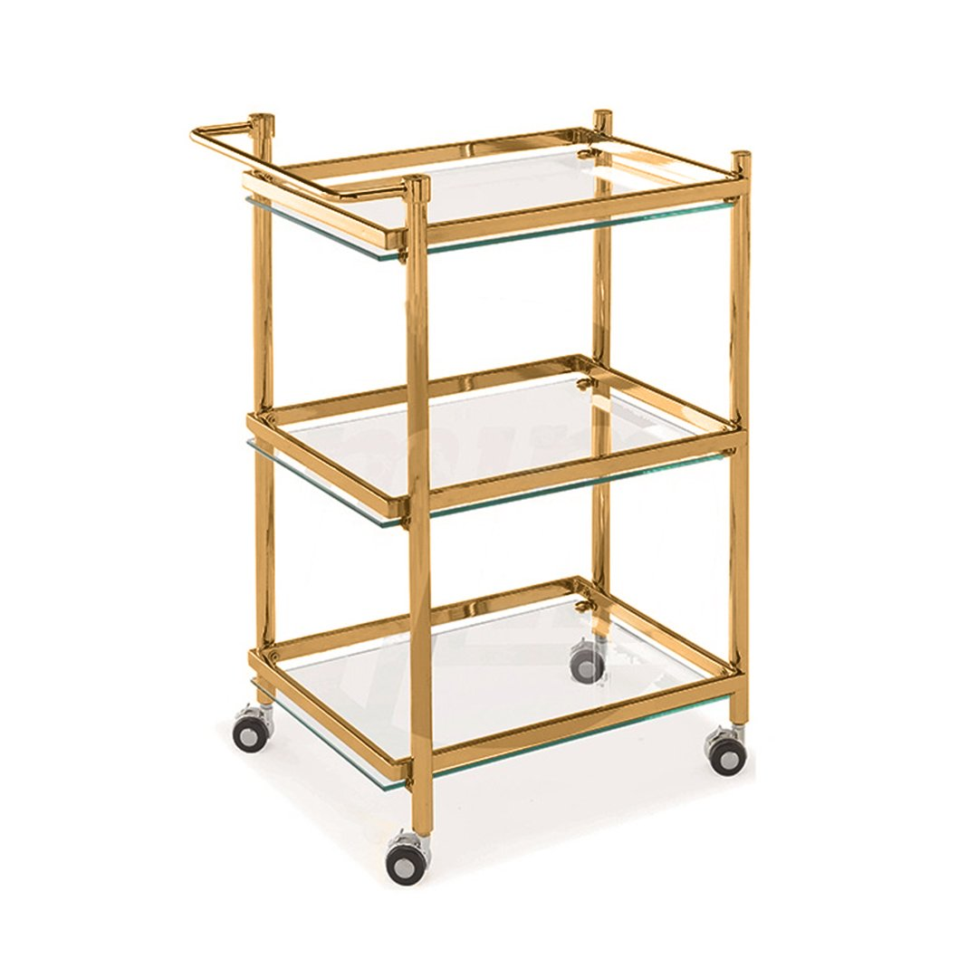 Glass Station Trolley