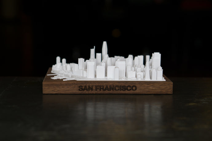San Francisco City Skyline / Downtown 3D Printed