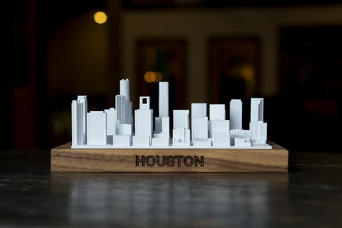 Houston Texas City Skyline / Downtown 3D Printed