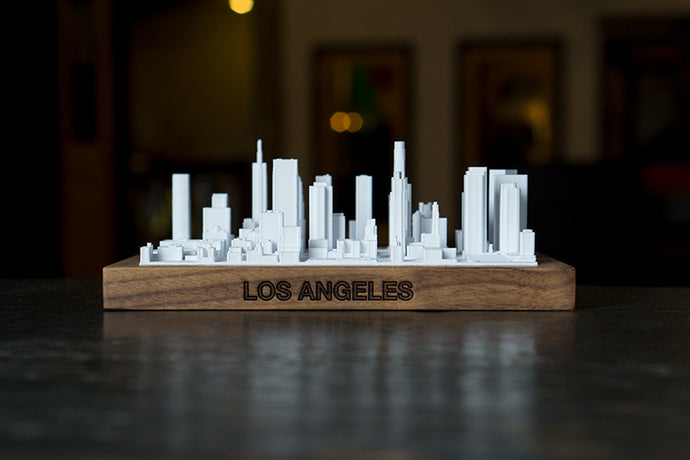 Los Angeles City Skyline / Downtown 3D Printed