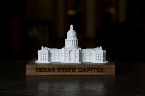 Texas State Capitol Building / 3D Printed