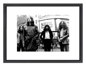 A print of a band photo for Black Sabbath
