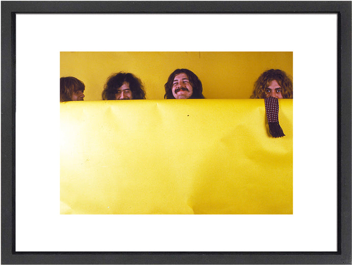 Iconic Led Zepplin band image