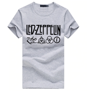 Classic grey Led Zeppelin t-shirt,