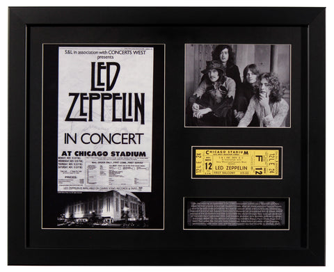 RARE - Led Zeppelin Cancelled Concert Ticket
