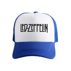 Blue Led Zeppelin baseball hat