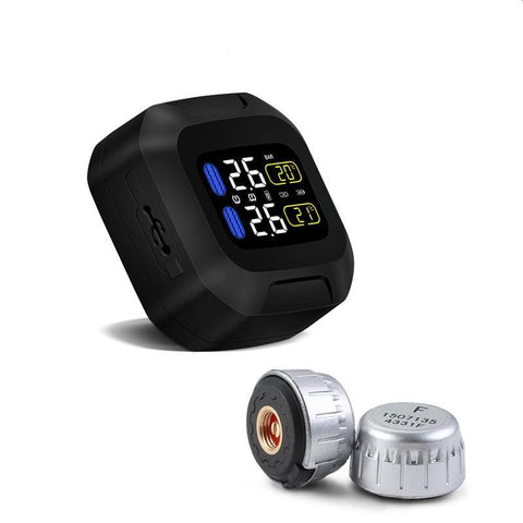 MOTORCYCLE TIRE PRESSURE MONITORING SYSTEM