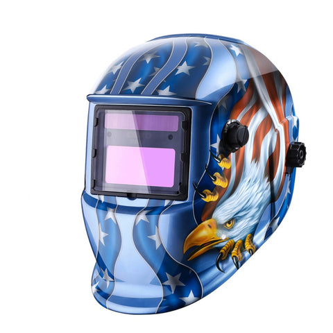 SCREAMING EAGLE AUTO-DARKENING WELDING HELMET
