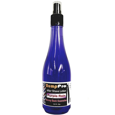 BumpPro Purple Rain Aftershave Lotion -- 12 oz
