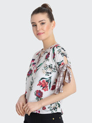 Copy of Multi Rayon Floral Printed Top-2238
