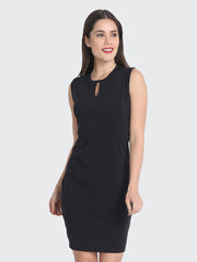 buynewtrend  black  elegant dress