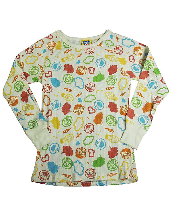 Junk Food - Big Girls' Long Sleeve Thermal Tee Shirt