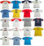 Cool Island Boys Cotton Short Sleeve T-shirt Tee Shirt Top - 19 Colors / Prints, 11537