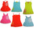 Mish Mish Baby Infant Newborn Girls 100% Cotton Sleeveless Tank Sundress, 11767
