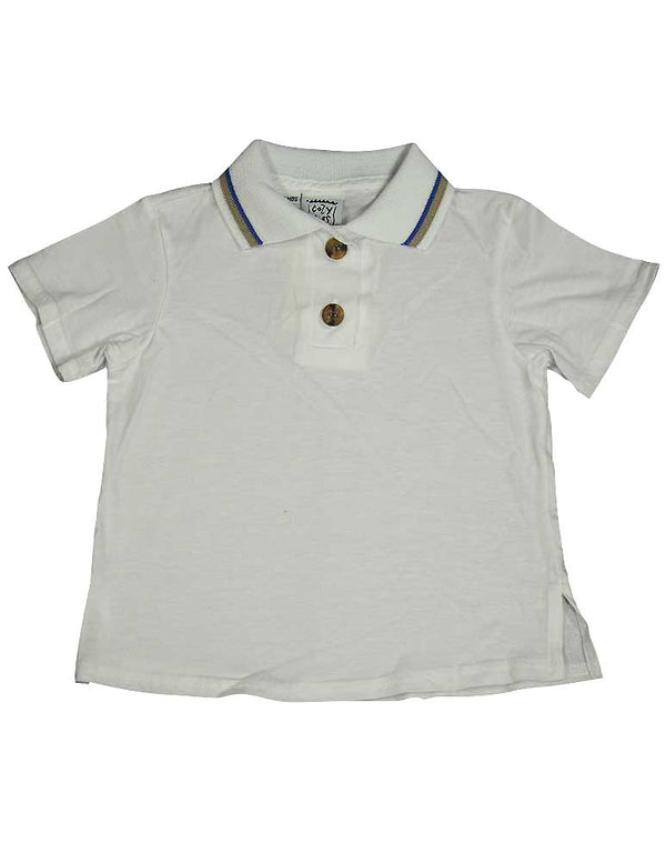 Cozy Toes - Baby Boys Short Sleeve Polo