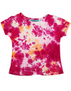 Silver Charm - Big Girls' Short Sleeve Tie Dye Top
