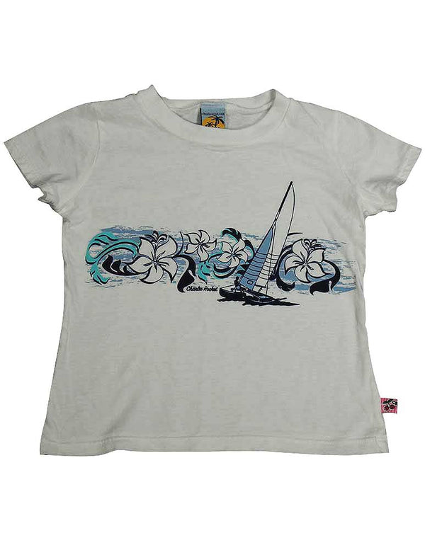 Charlie Rocket - Little Girls' Short Sleeve Tee Shirt