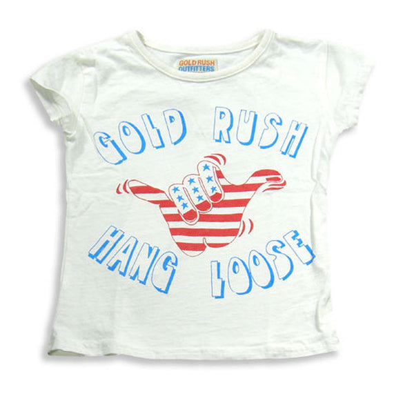 Gold Rush Outfitters - Baby Girls Cap Sleeve T-Shirt