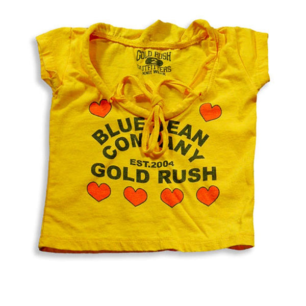 Gold Rush Outfitters - Little Girls Cap Sleeve T-Shirt
