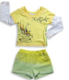 Baby Sara Infant Baby Girls Long Sleeve T - Shirt and Short Set, 17748