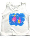 My Pool Pal - Baby Girls Fish Tank Top