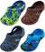 Veggies Toddler / Little Kids Boys Girls Slip On Hinged Back Strap Clog Shoe, 17951