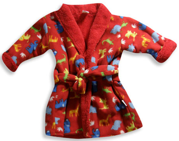 I Play - Baby Boys Fleece Robe