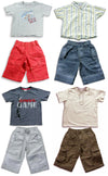 Mish Mish Baby Boys Infant Cotton Short Sleeve Tee Short Sets, 20905