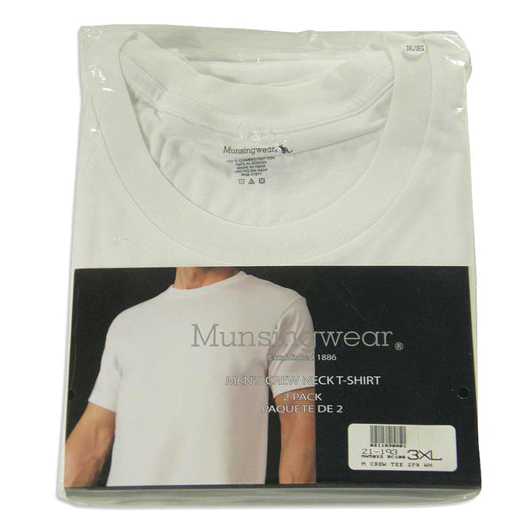 Munsingwear - Big Mens (Pack of 2) Crewneck T-Shirt