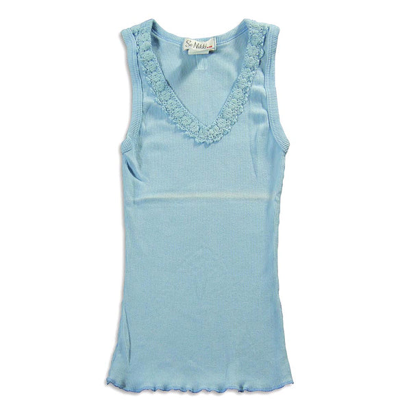 Slightly Irregular So Nikki - Big Girls' V-Neck Tank Top