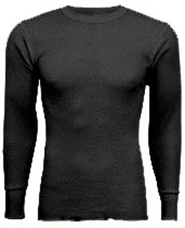 Indera Mens Big & Tall Long Sleeve Traditional Waffle Thermal Long John Top, 19244