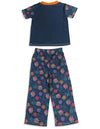 Bakugan Boys Short Sleeve Flame Resistant 2 Piece Sleepwear Lounge Pajama Set, 23796