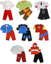 Snopea Baby Infant Newborn Boys Cotton Long Sleeve Pant Set - 8 Prints Available, 25818