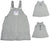 Mulberribush Girls Sizes 7 - 10 Sleeveless Pullover Fleece Jumper Dress, 26287