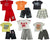 Mish Mish Baby Boys Infant Cotton Knit Short Sleeve Tee Short Sets, 26665