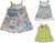 Baby Sara Infant Baby Girls Sleeveless Dresses - 3 Styles and Colors, 26734