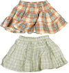 Mulberribush Toddler Girls Flannel Cotton Plaid Skirt Bottoms, 27019