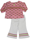 Snopea - Baby Girls Long Sleeve Pant Set