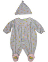 Snopea - Baby Girls Long Sleeve Teddyland Jumpsuit Coverall