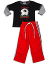 Mis Tee V-Us - Little Boys Long Sleeve Pant Set