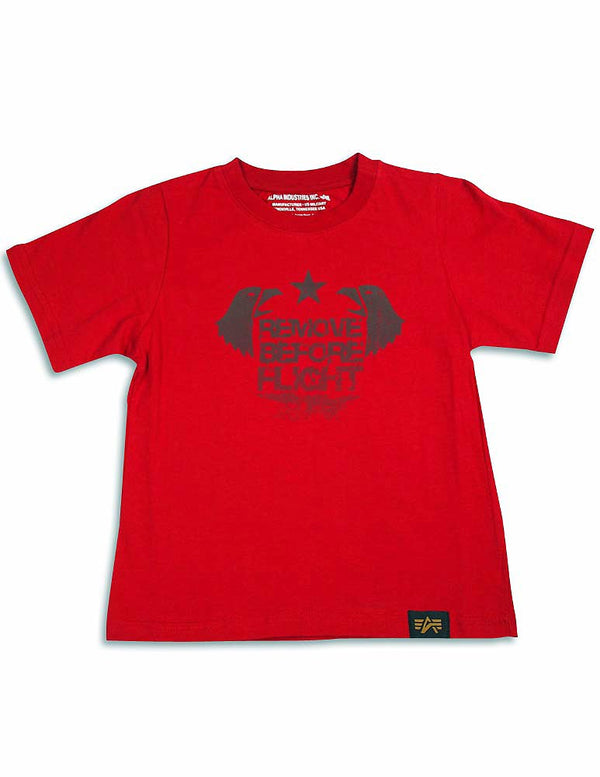 Alpha Industries - Big Boys Short Sleeve T-Shirt