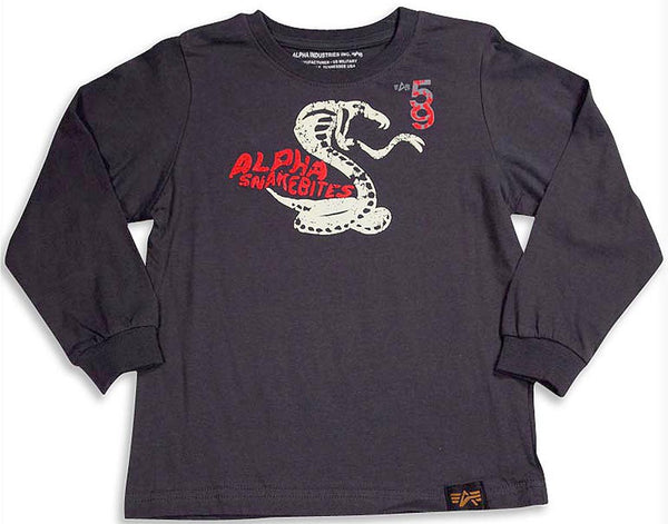 Alpha Industries - Little Boys Long Sleeve T-Shirt