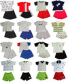 Snopea Baby Infant Newborn Boys Cotton Short Set - Choose from 16 different Sets, 29675